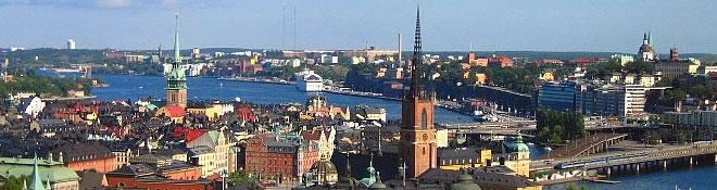 Stockholm stadsvy