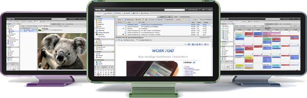 Work2Go - samarbetsverktyg med e-post
